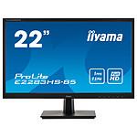 "iiyama 21.5"" LED - ProLite E2283HS-B5 pas cher"