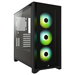 Corsair iCUE 4000X RGB Tempered Glass (Noir) pas cher