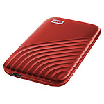 WD My Passport SSD 500 Go USB 3.1 - Rouge pas cher