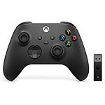 Microsoft Xbox Series X Controller + Adaptateur PC pas cher