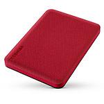 Toshiba Canvio Advance 2 To Rouge pas cher