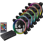 Enermax T.B. RGB 120 mm Pack de 6 pas cher