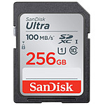 SanDisk Ultra SDXC UHS-I U1 256 Go (SDSDUNR-256G-GN3IN) pas cher