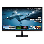 "Samsung 31.5"" LED - Smart Monitor M5 S32AM500NR pas cher"