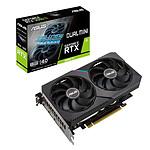 ASUS GeForce RTX Dual 3060 Ti 8G Mini V2 (LHR) pas cher