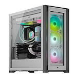 Corsair iCUE 5000X RGB Tempered Glass (Blanc) pas cher