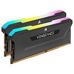Corsair Vengeance RGB PRO SL Series 64 Go (2 x 32 Go) DDR4 4000 MHz CL18 - Noir pas cher
