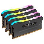 Corsair Vengeance RGB PRO SL Series 128 Go (4 x 32 Go) DDR4 3200 MHz CL16 - Noir pas cher