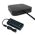 i-tec USB-C Dual Display Docking Station Power Delivery 100 W + Universal Charger 112 W pas cher