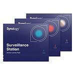 Synology Pack 8 licences pour caméras supplémentaires pas cher