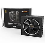 be quiet! Pure Power 11 FM 650W 80PLUS Gold pas cher