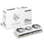 PowerColor Hellhound Spectral White AMD Radeon RX 6700 XT 12GB GDDR6 pas cher