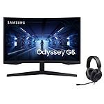 Samsung Odyssey G5 C27G55TQWR + JBL Quantum 100 Noir pas cher