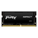 Kingston FURY Impact SO-DIMM 8 Go DDR4 2666 MHz CL15 pas cher