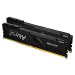Kingston FURY Beast 64 Go (2 x 32 Go) DDR4 2666 MHz CL16 pas cher