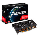 PowerColor Fighter AMD Radeon RX 6600 XT 8GB GDDR6 pas cher
