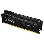 Kingston FURY Beast 32 Go (2 x 16 Go) DDR4 3000 MHz CL16 pas cher