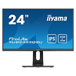 "iiyama 23.8"" LED - ProLite XUB2493QSU-B1 pas cher"