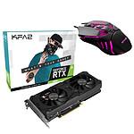 KFA2 GeForce RTX 3060 (1-Click OC) LHR + KFA2 Gaming Slider 02 pas cher