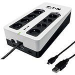 Eaton 3S 850 FR (Gen 2) + Câble USB 2.0 vers Micro USB Type AB (Mâle/Mâle)- 1 m pas cher