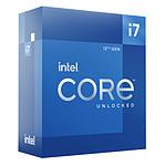 Intel Core i7-12700K (3.6 GHz / 5.0 GHz) pas cher