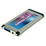Carte contrôleur ExpressCard 34mm 1 port USB 3.0 pas cher