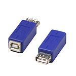 Adaptateur USB 2.0 type A femelle / B femelle pas cher