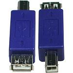 Adaptateur USB 2.0 type A femelle / B mâle pas cher