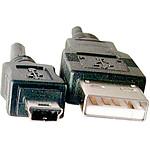 Câble USB 2.0 pour périphérique mini USB - 1.5 m pas cher