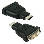 Adaptateur DVI-D Femelle / HDMI mâle pas cher