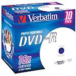 Verbatim DVD-R 4.7 Go 16x imprimable (par 10, boite) pas cher