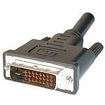 Câble DVI-D Dual Link mâle/mâle (10 mètres) pas cher