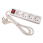 Multiprise 4 prises avec interrupteur pas cher