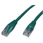 Câble RJ45 catégorie 5e U/UTP 0.5 m (Vert) pas cher