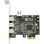 Carte contrôleur PCI-Express avec 4 ports FireWire 800 (dont 1 interne) pas cher