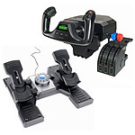 Logitech G Saitek Pro Flight First Flight: Yoke System + Rudder Pedals pas cher