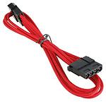 BitFenix Alchemy Red - Extension d'alimentation gainée - Molex vers Molex - 45 cm pas cher