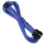 BitFenix Alchemy Blue - Extension d'alimentation gainée - EPS12V 8 pins - 45 cm (coloris bleu) pas cher