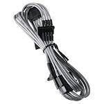 BitFenix Alchemy Silver - Câble d'alimentation gainé - Molex vers 4x SATA - 20 cm pas cher