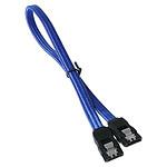 BitFenix Alchemy Blue - Câble SATA gainé 30 cm (coloris bleu) pas cher