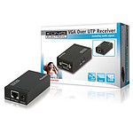 Récepteur VGA + Audio sur câble Ethernet jusqu'à 300 m pas cher