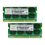 G.Skill 8 Go (2x 4 Go) DDR3 1600 MHz CL11 SODIMM 204 pins pas cher