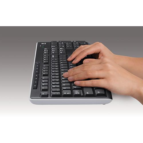 Logitech Wireless Keyboard K270 pas cher