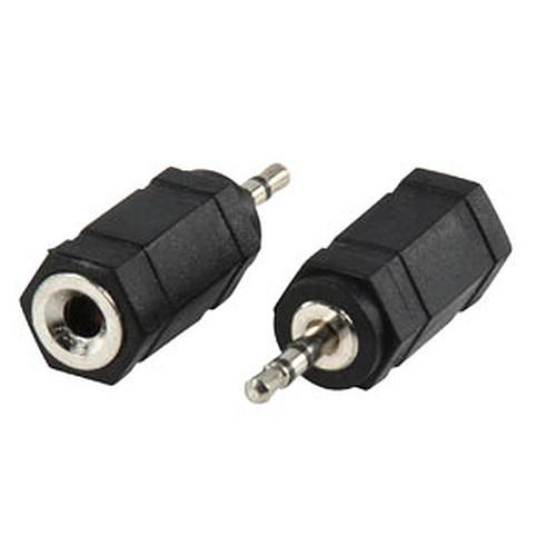 Adaptateur audio Jack 2.5 mm mâle / 3.5 mm femelle pas cher