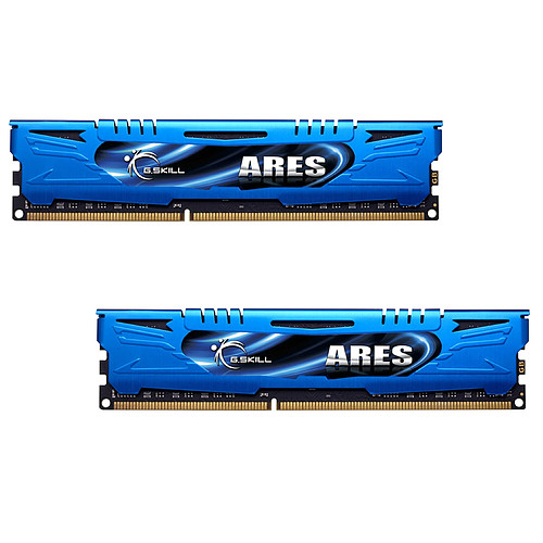 G.Skill Ares Blue Series 8 Go (2 x 4 Go) DDR3 1600 MHz CL9 pas cher
