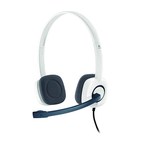 Logitech Stereo Headset H150 (Coconut) pas cher