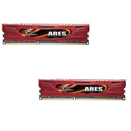 G.Skill Ares Red Series 16 Go (2 x 8 Go) DDR3 1600 MHz CL9 pas cher