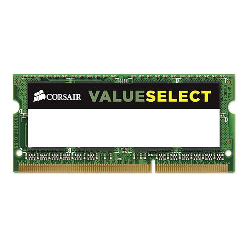 Corsair Value Select SO-DIMM 8 Go (2 x 4 Go) DDR3L 1600 MHz CL11 pas cher