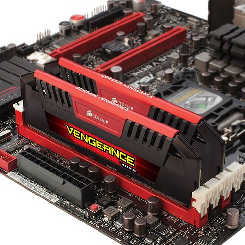 Corsair Vengeance Pro Series 16 Go (2 x 8 Go) DDR3 1600 MHz CL9 Red pas cher