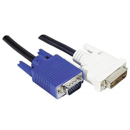 Cordon DVI-A / VGA (5 mètres) pas cher